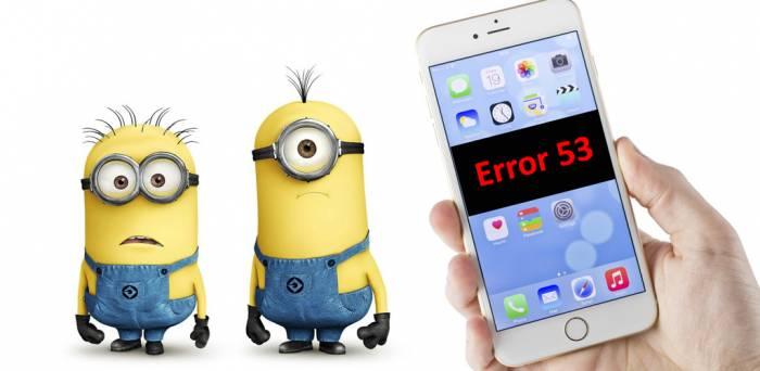 Errore 53. Azioni legali contro Apple
