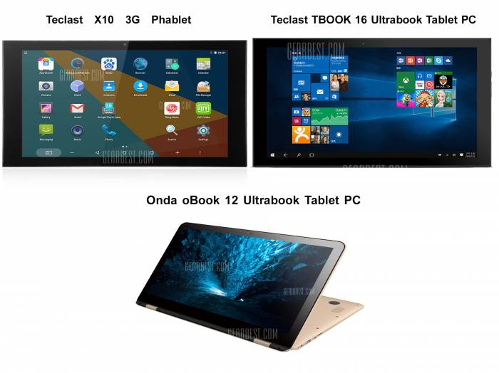 Onda oBook 12 Teclast X10 e Teclast TBOOK 16: la recensione di Best-Tech.it