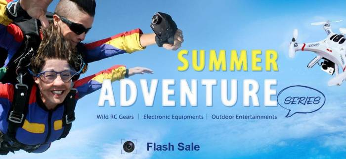 Summer Adventure Gearbest
