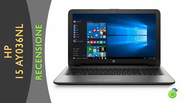 HP 15-ay036nl - La recensione di best-tech.it