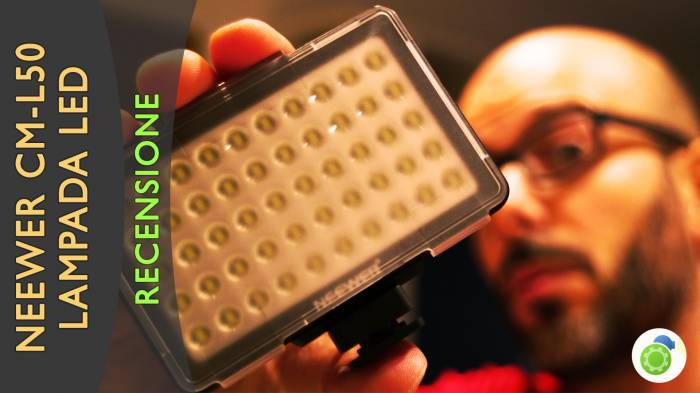Neewer Lampada LED CM-L50 - La recensione di Best-Tech.it