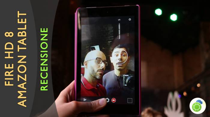 Nuovo tablet Fire HD 8, il tablet di Amazon per l'intrattenimento