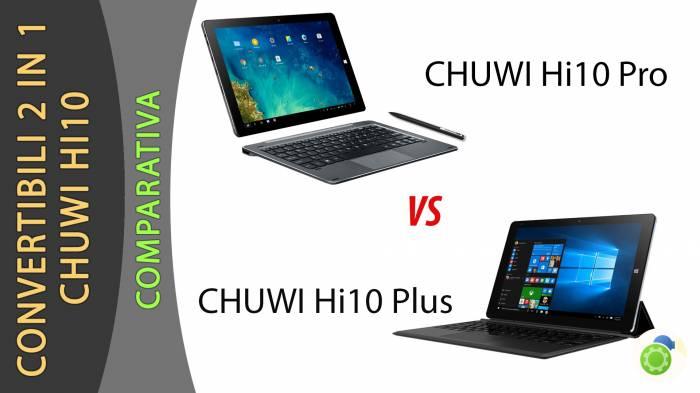 CHUWI HI10 Pro e HI10 Plus - La scheda tecnica di Best-Tech.it