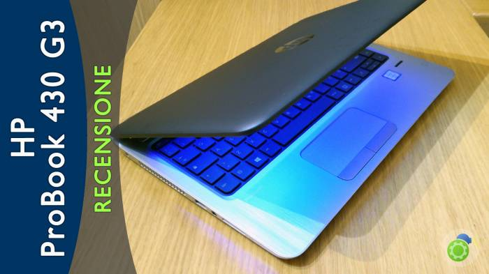 HP Probook 430 G3 - la recensione di best-tech.it