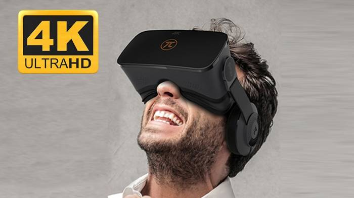 Realtà virtuale, visore PIMAX 4K UHD Virtual Reality 3D
