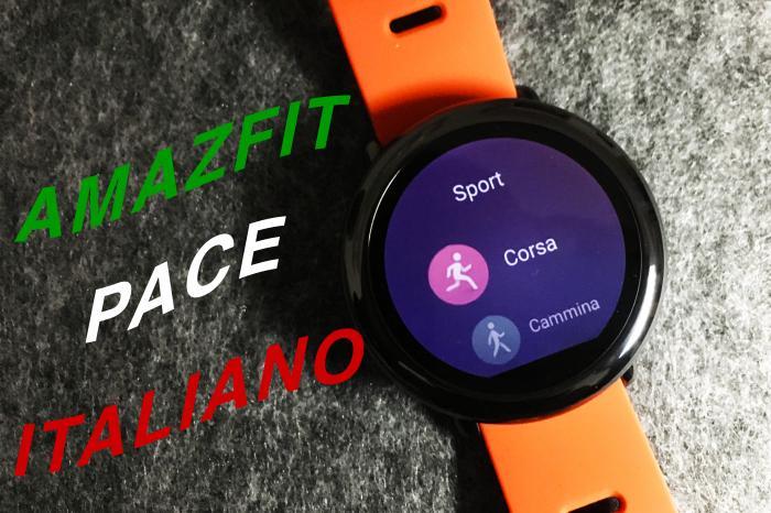 Tradurre in italiano Amazfit Pace - La guida di Best-Tech.it