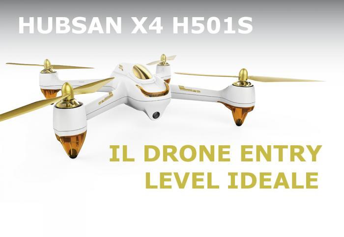 Hubsan H501S X4 Drone - La Recensione di Best-Tech.it