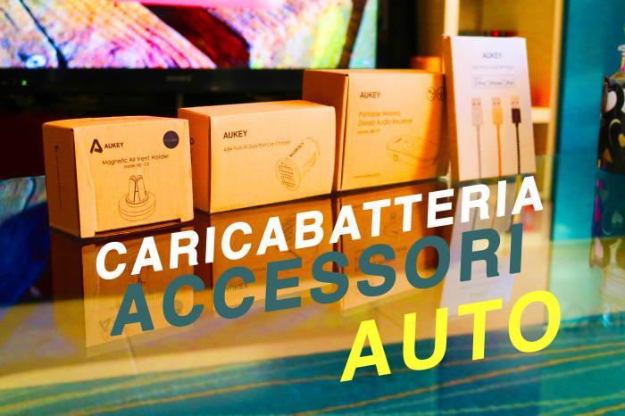 Caricabatteria e accessori auto by Aukey - La recensione di Best-Tech.it