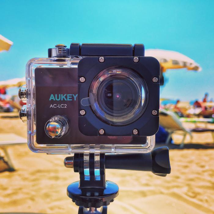 AUKEY AC-LC2 Action Cam 4K economica ma eccezionale!!