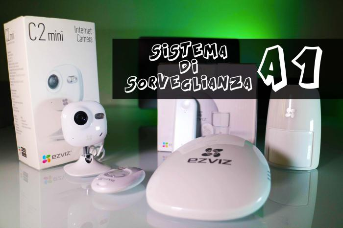 Sistema d'allarme Wireless Ezviz A1 Kit