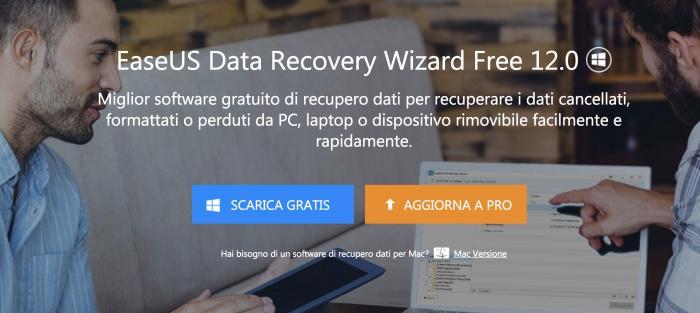 Il miglior software GRATUITO per il recupero dei dati