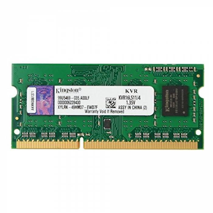 Kingston KVR16LS11/4 Memoria RAM da 4 GB: Best-Tech.it