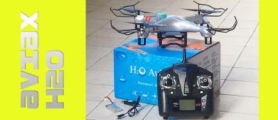 Quadricottero Aviax H2O, Unboxing