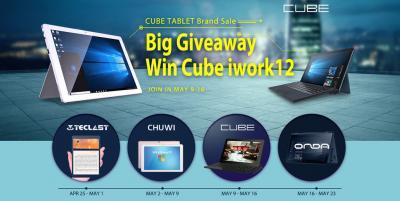 Siete ancora in tempo per la promozione dei prodotti Cube di GearBest