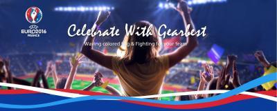 Celebrate Euro 2016 con Gearbest