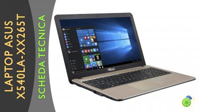 Asus X540LA-XX265T - La scheda tecnica di Best-Tech.it