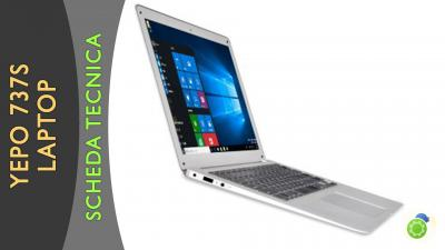 YEPO 737S Laptop - La scheda tecnica di Best-Tech.it