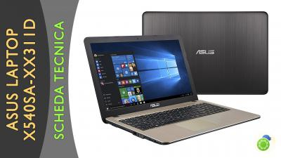 Asus X540SA-XX311D Laptop - La scheda tecnica di Best-Tech.it