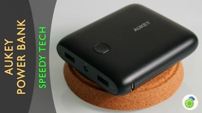 AUKEY Caricabatterie Portatile di 10000mAh - La recensione di Best-Tech.it