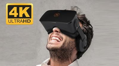 Realtà virtuale, visore PIMAX 4K UHD Virtual Reality 3D