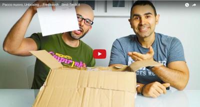 Pacco nuovo, Unboxing fressssssh - Best-Tech.it