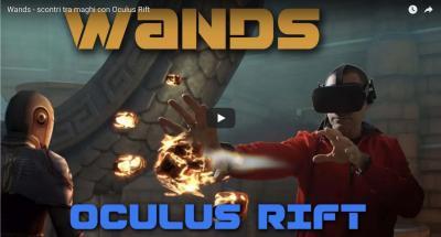 Wands - scontri tra maghi con Oculus Rift