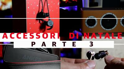 Regali di Natale Tech, accessori Audio - parte 3