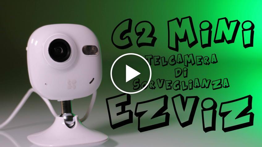 Videocamera di sorveglianza Ezviz C2 mini