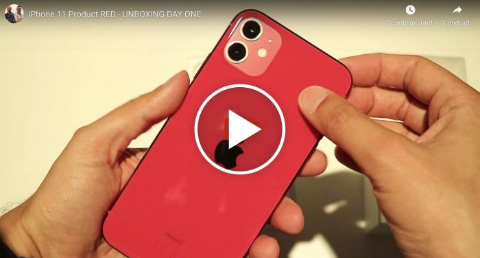 iPhone 11 Product RED - Video Unboxing